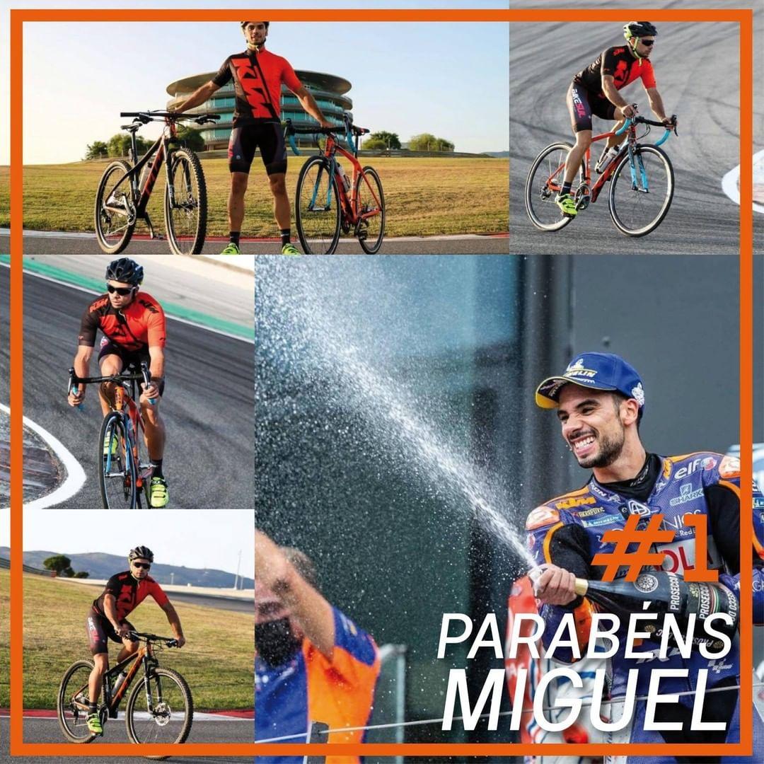 Mais uma vitória para Miguel Oliveira