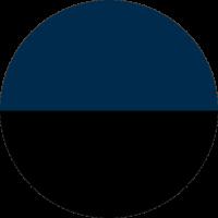 Azul Navy e Preto