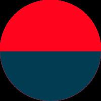 Vermelho e Azul Navy